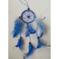 Dreamcatcher warna biru