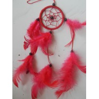 Dreamcatcher warna merah
