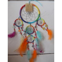 Dream Catcher Warna Warni dengan Kaca