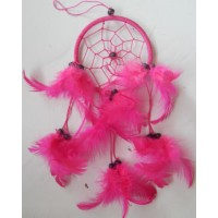 Dreamcatcher 9 cm warna merah