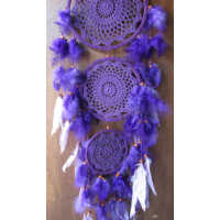 Dream catcher warna ungu