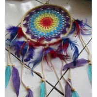 Dream catcher warna warni