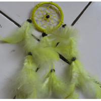 Dream catcher warna kuning