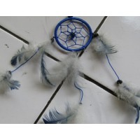 Dream catcher warna putih biru