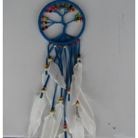 Dream catcher kain warna biru