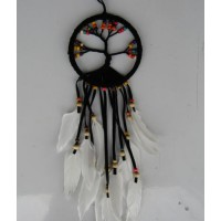 Dream catcher kain warna hitam