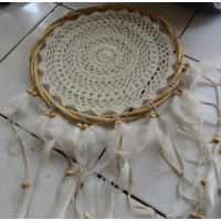 Dream catcher warna putih
