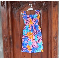 Dress anak motif bunga