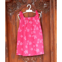 Dress Cotton Anak Motif Bunga