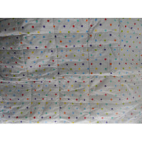 Bed Cover Medium Motif Polkadot Kecil Warna Warni