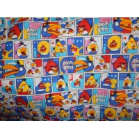 Bed Cover Besar Motif Angry Bird